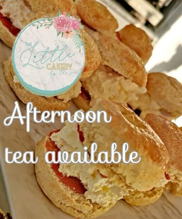 Afternoon tea available via our website 😊