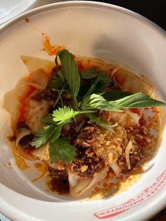 Shrimp dumplings - Dinner Stroll