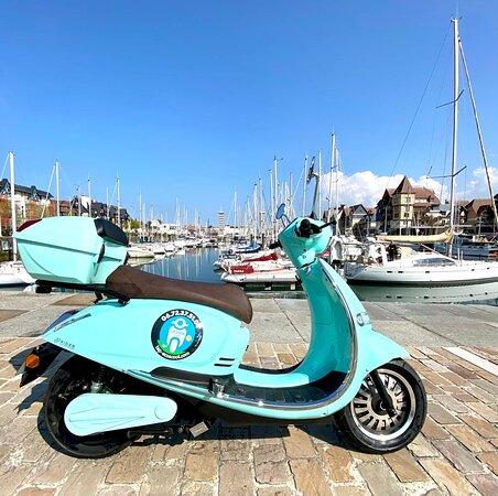 Balade à Honfleur en scooter électrique