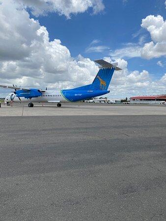 Huge thanks to Air Tanzania!