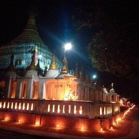Beautiful views of Mahagyi Pagoda