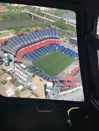 Helicopter Tour of Downtown Nashville & Music City (20-Minutes): Sadium