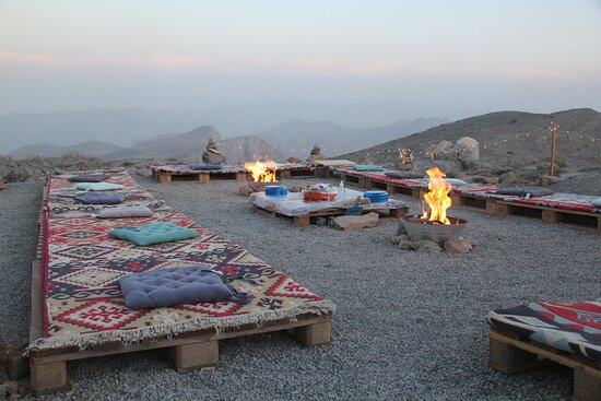 Samar Trail Hiking Adventure in Mount Jais: Beautiful dinner set up with a view