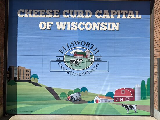 Ellsworth, WI: Cheese Curd Capital of Wisconsin!