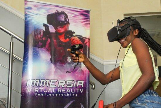 Lagos State, Νιγηρία: Fun at Immersia