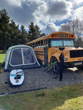 Campsite set up