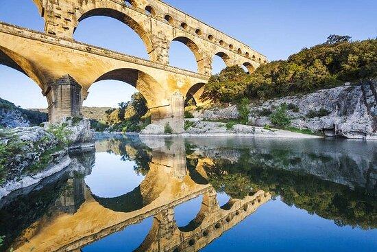 Excursion en petit groupe dans les Alpilles, à Arles et au pont du...