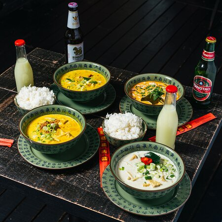 Selection of our Asian Curries!