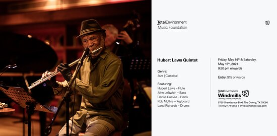 Internationally renowned flutist Hubert Laws is one of the few classical artists who has also mastered jazz, pop, and rhythm-and-blues genres; moving effortlessly from one repertory to another. He has appeared as a soloist with the New York Philharmonic under Zubin Mehta, with the orchestras of Los Angeles, Dallas, Chicago, Cleveland, Amsterdam, Japan, Detroit and with the Stanford String Quartet. He has given annual performances at Carnegie Hall, and has performed sold out performances in the H