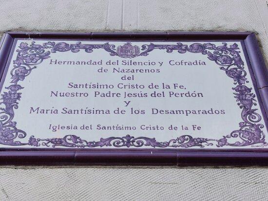 Iglesia Del Santisimo Cristo De La Fe