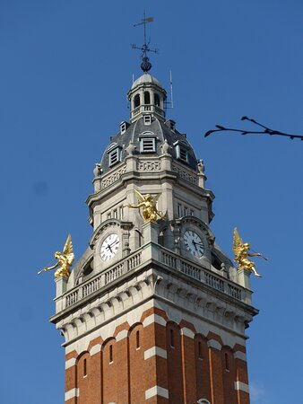 Impressive Town Hall (Maison Communale) of Saint-Gilles