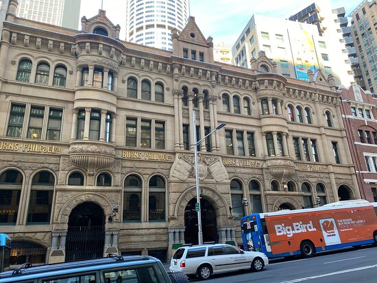 Ex Burns Philp Building Sydney