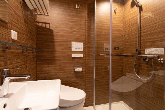 本館客室シャワーブース2021年3月リニューアル