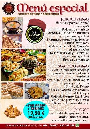 Restaurante Lounge Marrakech Halal