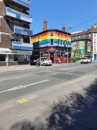 Tithebarn Street in Liverpool Buisness District
