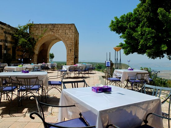 Umm Qais, Jordan: A note: Outdoor dining is closed during Ramadan