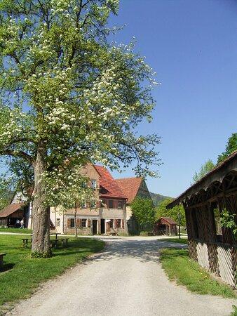 Das Handwerkerhaus aus Oberrot im Hohenloher Freilandmuseum