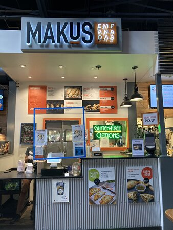 Makus in the Food Hall
