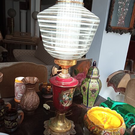 Heraklion, Greece: Old lamp