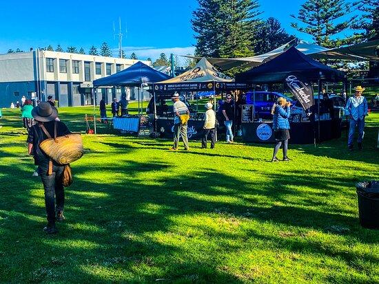 Kiama Municipality, Australia: Kiama Downs and local growers market scenes