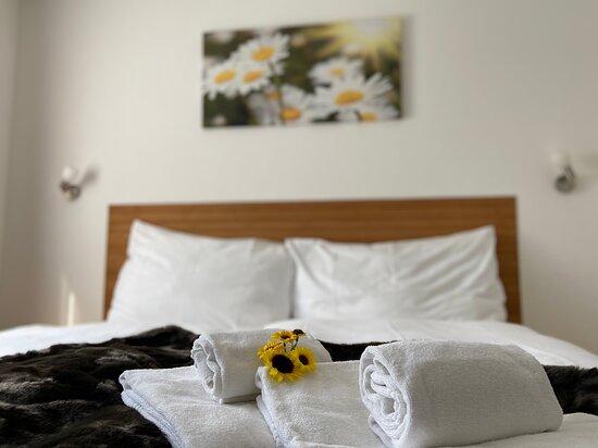 Doppelzimmer im Hotel Weisses Rössli, Göschenen
