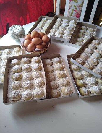 Uspallata, Argentina: Pasta fresca para llevar Sorrentinos RAVIolon Canelones Fideos Lasaña Ñoquis  Fideos rellenos Malfatti Y mucho más....