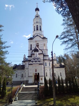 Zelenogorsk, Russia: Зеленогорск, церковь