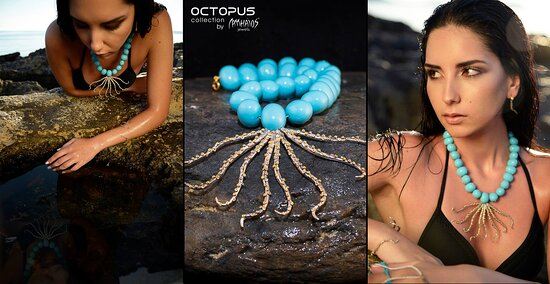 Octopus collection by Matthaios art Jewels