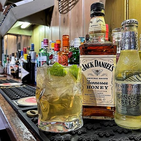 Our new Jack Daniel's Tennessee Honey cocktail!