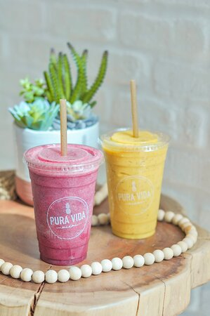 VITAMIN SEA AND WELCOME TO MIAMI SMOOTHIE