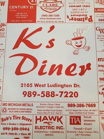 Farwell, MI: K's Diner