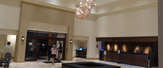 Front Desk area - lobby