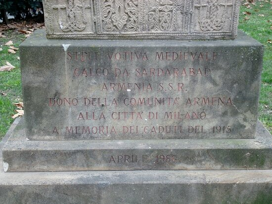 Monumento Ai Caduti Armeni Del 1915