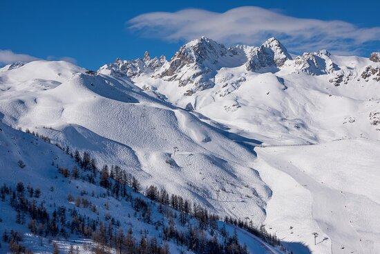 Stunning scenery in Serre Chevalier