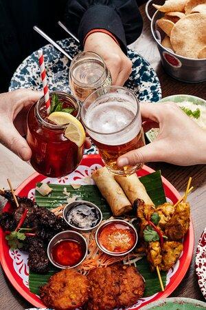 Rosa's Thai Cafe Birmingham meal