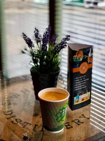 In or Out, this time was a takeaway, that's why we 100% Biodegradable Cups.... #ecocups