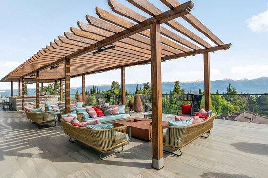 Lounge near the pool