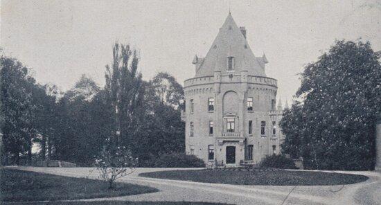 Ansichtkaart, omstreeks 1935