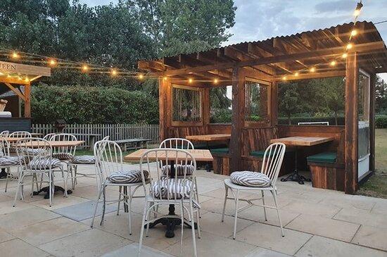 Outside Terrace & Garden