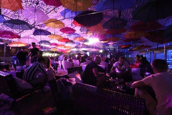 umbrella lounge