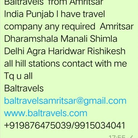 Baltravels www.baltravels.com baltravelsamritsar@gmail.com +919876475039/9915034041