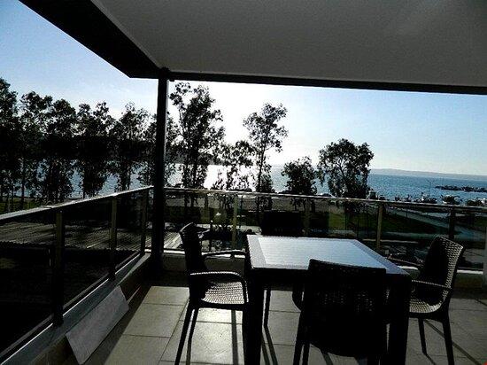 Turquia: side view balcony