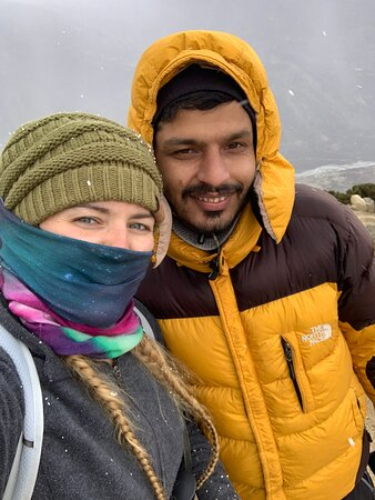 13-Day Guided Trekking Tour to the Everest Base Camp: Ananta and myself
