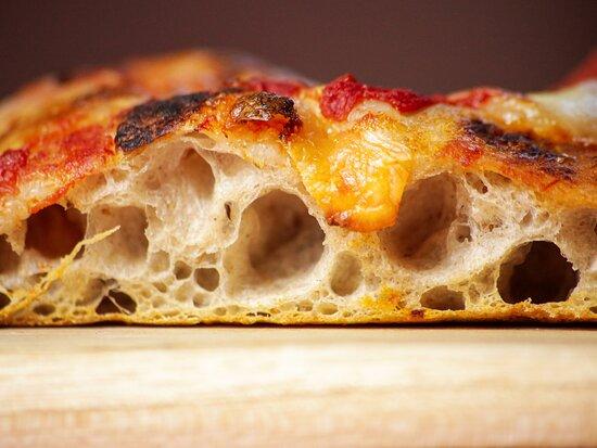 Massa aerada pizza romana e Sanduiches Doppio Crunch
