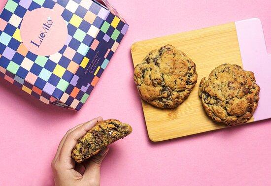 Cookie artesanal double chocolate