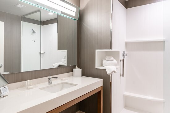 Featuring spacious vanities, magnifying cosmetic mirrors, and complimentary toiletries.