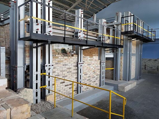 The glass furnace