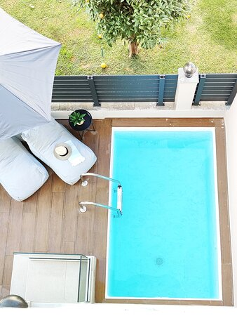 Junior Suite with private pool and terrace