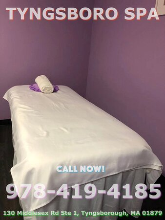 Tyngsboro Spa is an Asian massage spa designed to help you reduce stress, relieve build up chronic pain, and increase the overall quality of your life! We specialize in multiple affordable, customized treatments to meet the needs of a wide variety of clients in a peaceful setting! We are proud to be providing Authentic Asian Massage therapy services in our beloved community of Tyngsborough, MA!