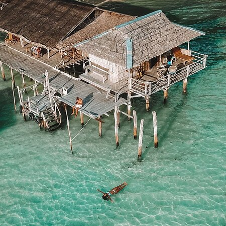 Our Ocean Stay, surrounded by Cristal clear waters of Raja Ampat